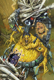 Astonishing Tales No.5 Cover: Mojo and Cannonball Print by Kenneth Rocafort