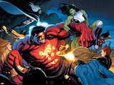 Hulk No.9 Group: Rulk, She-Hulk and Storm Bilder av Frank Cho