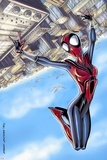 Spider-Girl No.68 Cover: Spider-Girl Prints by Ron Frenz