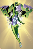 She-Hulk No.6 Cover: She-Hulk Prints by Adi Granov