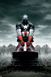 Captain America No.4 Cover: Captain America Plakaty autor Steve Epting