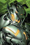 Annihilation: Conquest No.4 Headshot: Ultron Print by Tom Raney