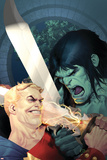 Incredible Hulk No.605 Cover: Skaar and Tyrannus Posters af Ariel Olivetti