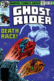 Ghost Rider No.35 Cover: Ghost Rider Print by Bob Budiansky