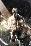 Thunderbolts No.137 Cover: Iron Fist, Cage and Luke Poster