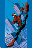Ultimate Spider-Man No.75 Cover: Spider-Man Foto von Mark Bagley
