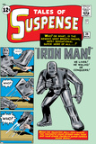 Tales of Suspense No.39 Cover: Iron Man Print by Jack Kirby