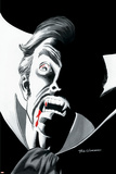 Stokers Dracula No.4 Cover: Dracula Print by Dick Giordano