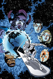 Marvel Adventures Fantastic Four No.26 Cover: Silver Surfer Print by Paul Smith