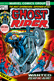 Tom Sutton - Ghost Rider No.1 Cover: Ghost Rider Obrazy