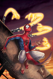Spider-Man India No.3 Cover: Spider-Man Prints by Jeevan J. Kang