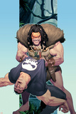 Punisher War Journal No.14 Cover: Punisher and Kraven The Hunter Posters af Ariel Olivetti
