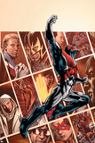 Captain Britain And MI:13No.1 Cover: Captain Britain Poster by Bryan Hitch