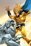 Vengeance of the Moon Knight No.2 Cover: Moon Knight and Sentry Affiches par Leinil Francis Yu