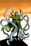 Spider-Man Doctor Octopus No.5 Cover: Doctor Octopus Print by Randy Green