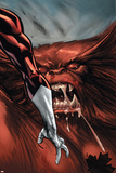 Omega Flight No.4 Headshot: Pointer, Michael and Sasquatch Prints by Scott Kolins