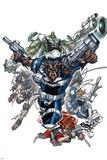 Nick Furys Howling Commandos No.1 Cover: Warwolf Prints by Eduardo Francisco