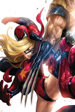 Ms. Marvel No.42 Cover: Ms. Marvel Posters by Sana Takeda