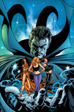 Witches No.3 Cover: Dr. Strange, Kale, Jennifer, Topaz and Satana Poster af Mike Deodato