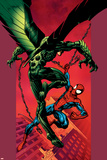 Ultimate Spider-Man No.90 Cover: Vulture and Spider-Man Prints by Mark Bagley