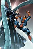 Spectacular Spider-Man No.10 Cover: Spider-Man and Doctor Octopus Plakater av Humberto Ramos