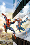 Amazing Spider-Man Family No.5 Cover: Spider-Man and Spider-Girl Prints by Ron Frenz