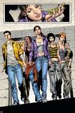 Spellbinders 6 Group: Vesco and Kim Print by Mike Perkins