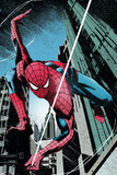 Amazing Spider-Man: Extra No.3 Cover: Spider-Man Plakater av Tomm Coker