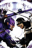 Dark Reign: Hawkeye No.2 Cover: Hawkeye and Bullseye Posters by Clint Langley