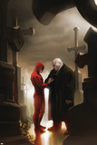 Daredevil No.117 Cover: Daredevil and Kingpin Prints