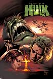 Incredible Hulk No.66 Cover: Hulk and Doc Samson Prints by Mike Deodato