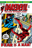 Daredevil No.100 Cover: Daredevil and Black Widow Prints by Gene Colan