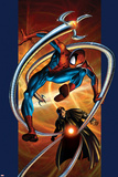 Ultimate Spider-Man No.57 Cover: Spider-Man and Doctor Octopus Posters by Mark Bagley