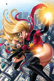 Ms. Marvel No.43 Cover: Ms. Marvel Posters by Sana Takeda