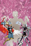 Contest Of Champions II No.3 Cover: Thor and Storm Posters by Michael Ryan