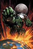 World War Hulk No.1 Cover: Hulk Flying Posters by David Finch