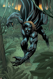 Black Panther 2099 No.1 Cover: Black Panther Bilder av Pat Lee