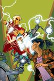 Warlock No.4 Cover: Adam Warlock, Chin and Janie Prints by Charlie Adlard