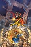 Marvel Team Up No.3 Cover: Dr. Strange and Fantastic Four Posters by Scott Kolins