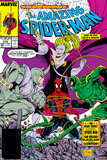Amazing Spider-Man No.319 Cover: Spider-Man, Blacklash, Scorpion and Rhino Posters by Todd McFarlane