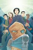 Guardians No.3 Cover: Drekk and Guardians Poster by Casey Jones