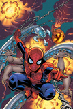 Amazing Spider-Man No.526 Cover: Spider-Man Print by Mike Wieringo