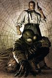 Spider-Man Noir No.4 Cover: Spider-Man, and Norman Osborn Pósters por Patrick Zircher