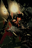 Punisher No.16 Cover: Punisher Smashing Photo