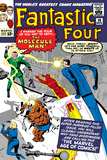 The Fantastic Four No.20 Cover: Mr. Fantastic Pósters por Jack Kirby