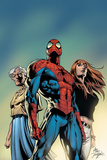 Amazing Spider-Man No.519 Cover: Spider-Man, May Parker, and Mary Jane Watson Print by Mike Deodato