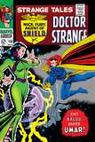 Bill Everett - Strange Tales No.150 Cover: Dr. Strange and Umar Fotografie