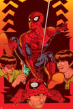 Spider-Man: With Great Power&No.5 Cover: Spider-Man, Peter Parker Print by Tony Harris