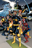 Ultimate Spider-Man No.120 Group: Spider-Man, Cyclops and Wolverine Photo by Stuart Immonen