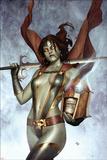 Nova No.6 Cover: Gamora Posters